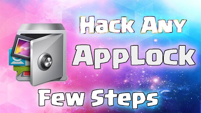 How To Hack Any AppLock