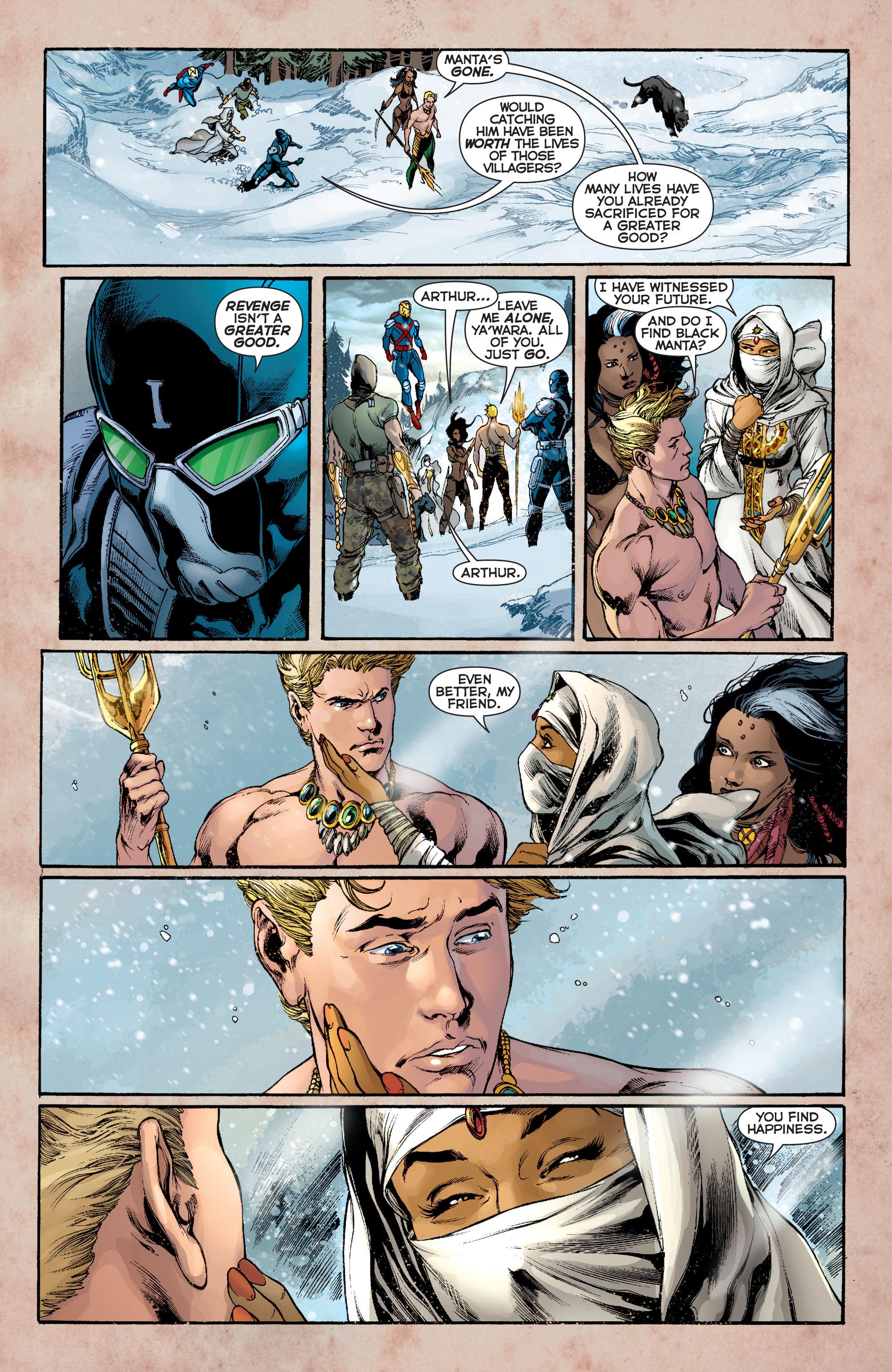 Read online Aquaman (2011) comic -  Issue #8 - 19