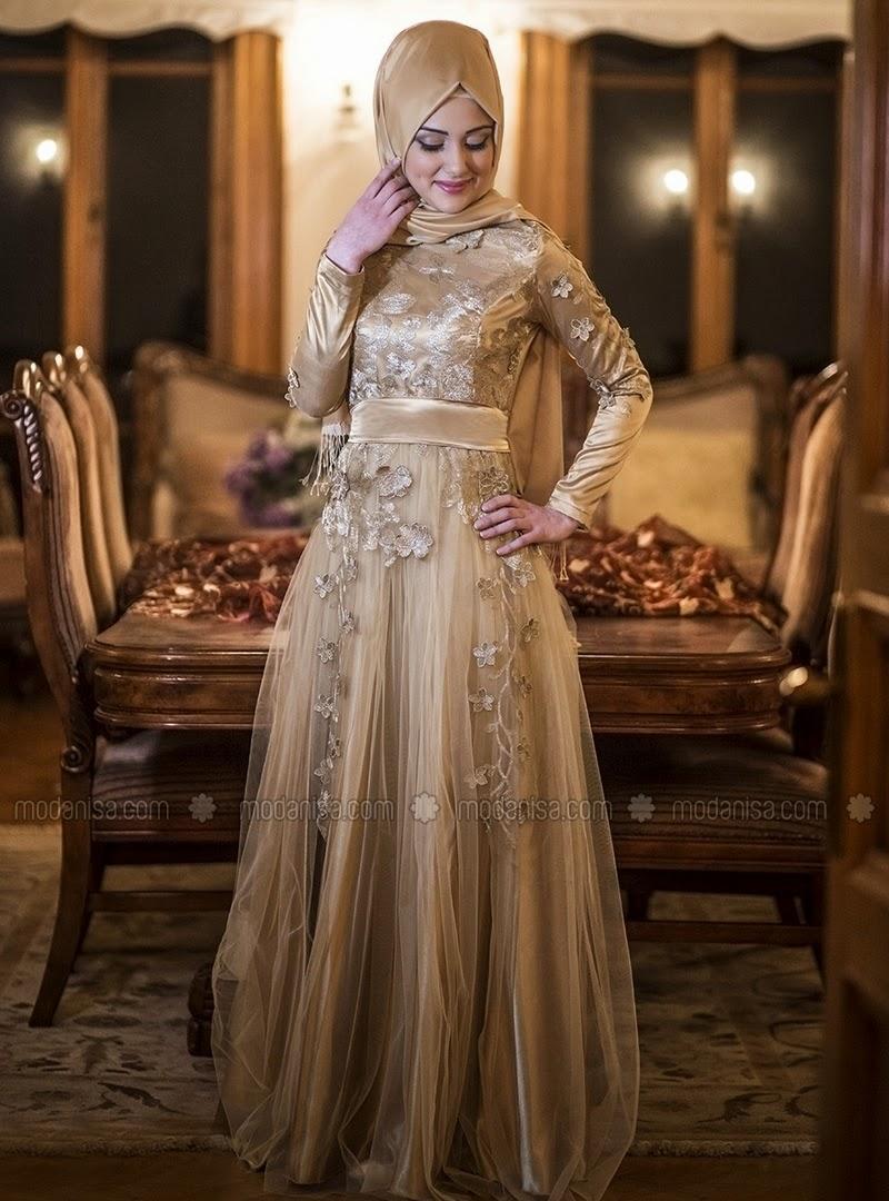 Robe de soirée Hijab , été 2015
