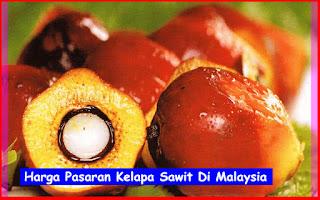 Harga Pasaran Kelapa Sawit Di Malaysia