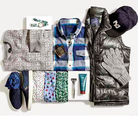 J. Crew Gift Guide for Him