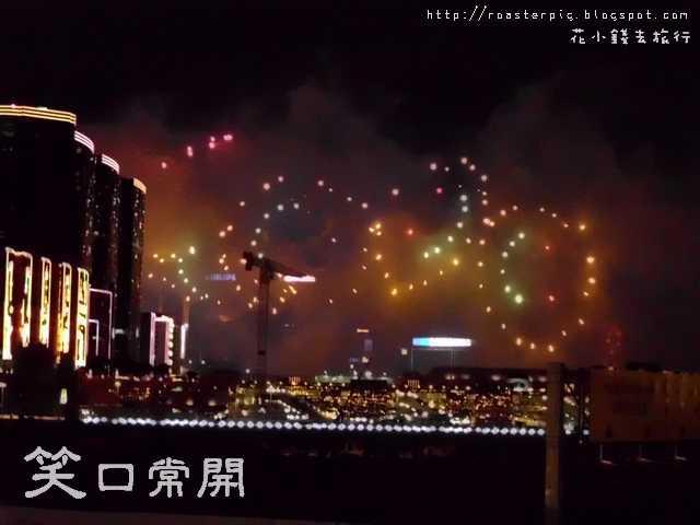香港初二新春煙花