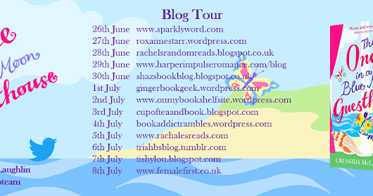 BLOGTOUR: The Once in a Blue Moon Guesthouse by Cressida McLaughlin #BlueMoonGuesthouse