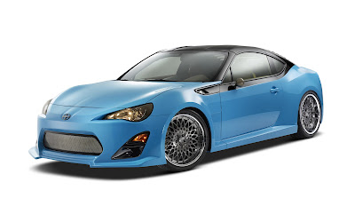 2016 Scion FR-S blue color image
