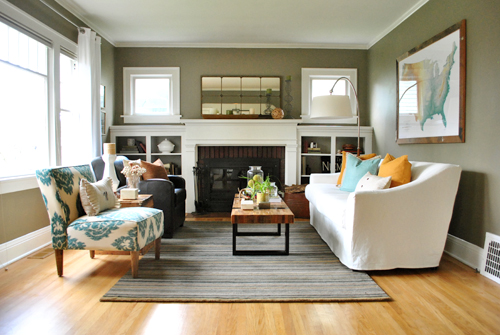 Fireplace Series: 10 Fabulous Mantle Ideas | Bungalow Home ...