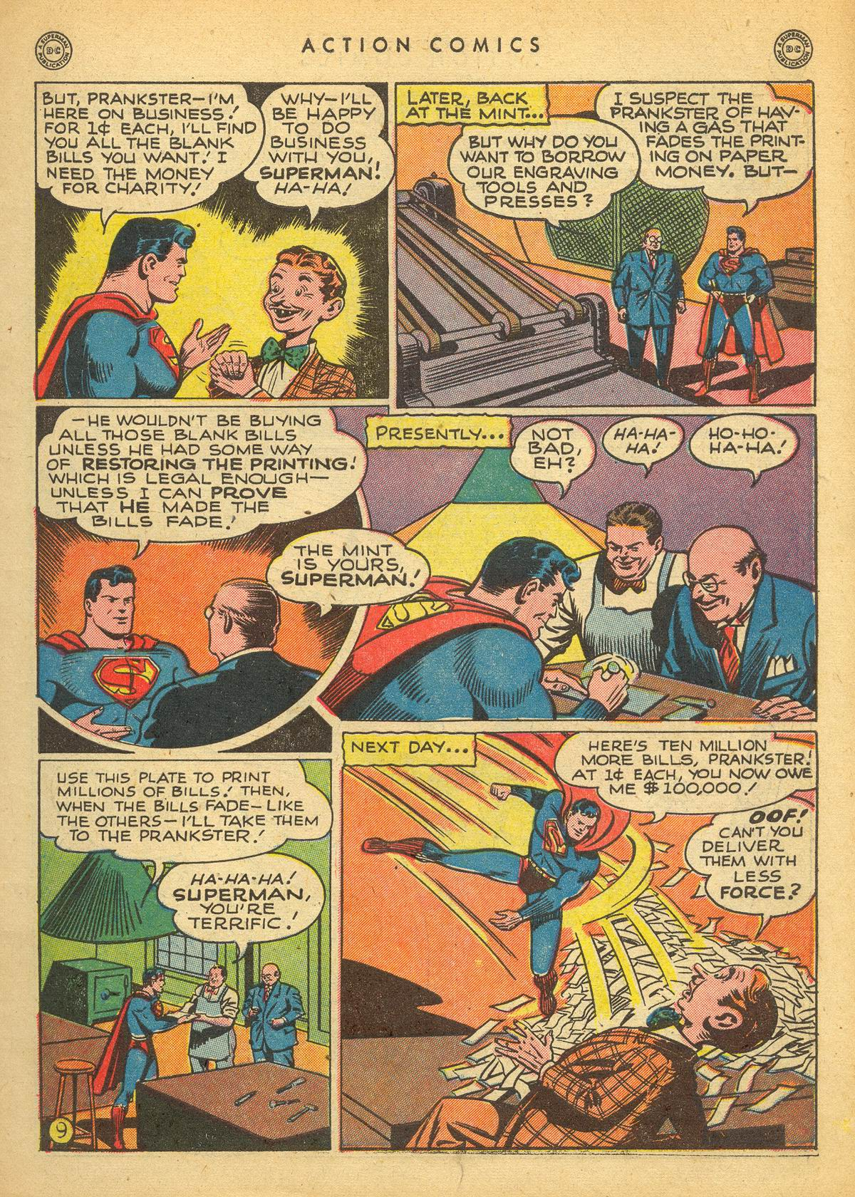 Read online Action Comics (1938) comic -  Issue #109 - 11