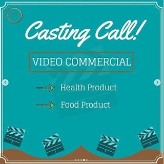 cara mendaftar dan syarat casting bintang iklan produk kesehatan makanan