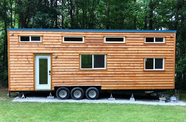 Cabin Style Tiny House For Sale