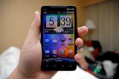 Smartphone HTC Evo 4G