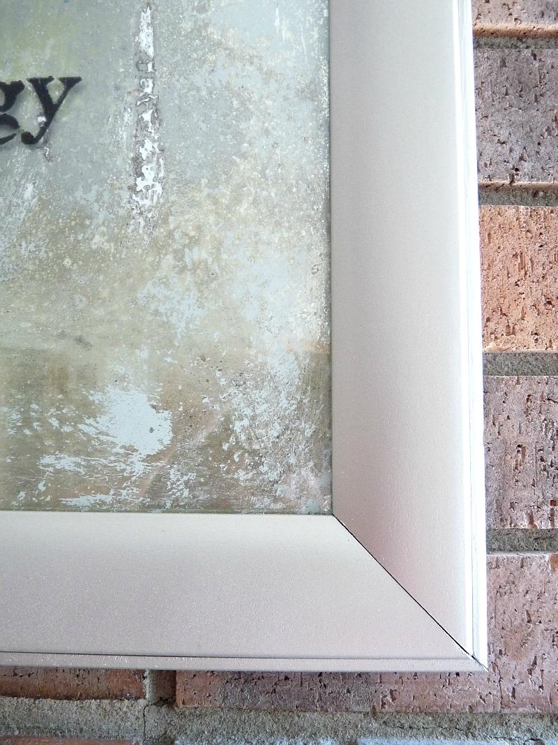 Detail of DIY Frame