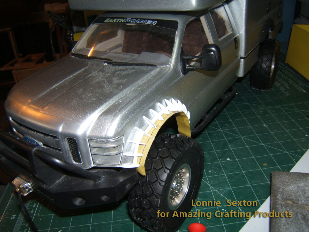 Amazing Casting Products Scale Fender Flares Split