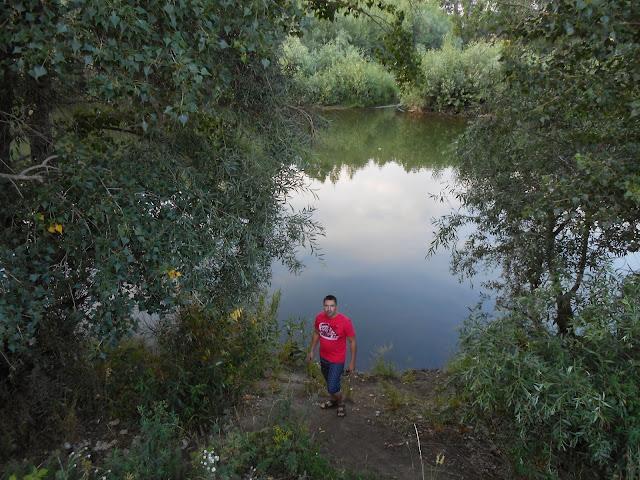 На берегу реки Урал