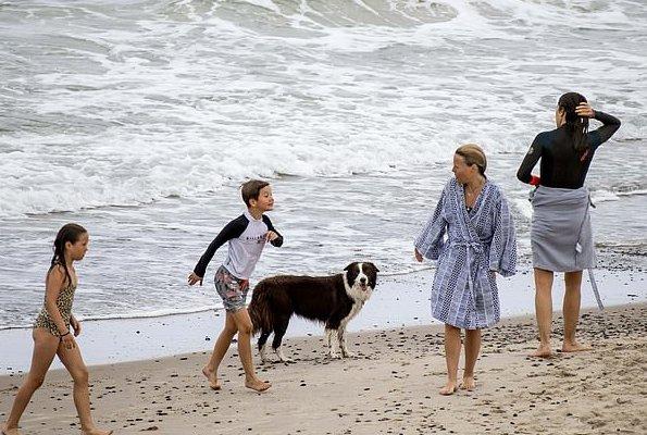 Crown Princess Mary, Crown Prince Frederik, Prince Christian, Princess Josephine, Princess Isabella, Prince Vincent