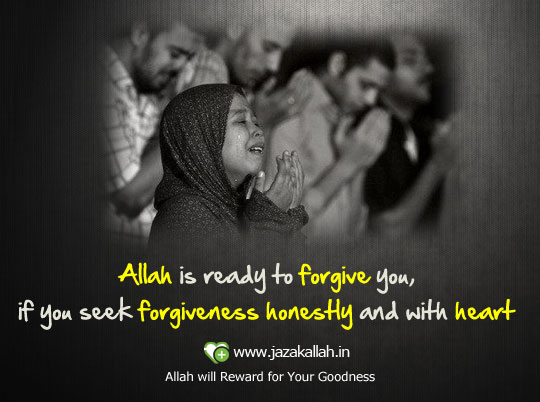 Allah is ready to forgive you - Pictures Quotes