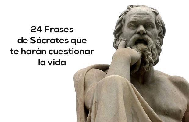 24 frases de Sócrates que te harán cuestionar la vida