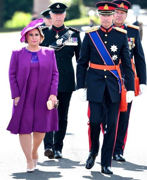 Queen Rania, Grand Duchess Maria Teresa, Prince Guillaume, Princess Stephanie, Prince Felix and Princess Claire, King Abdullah, Grand Duke Henri