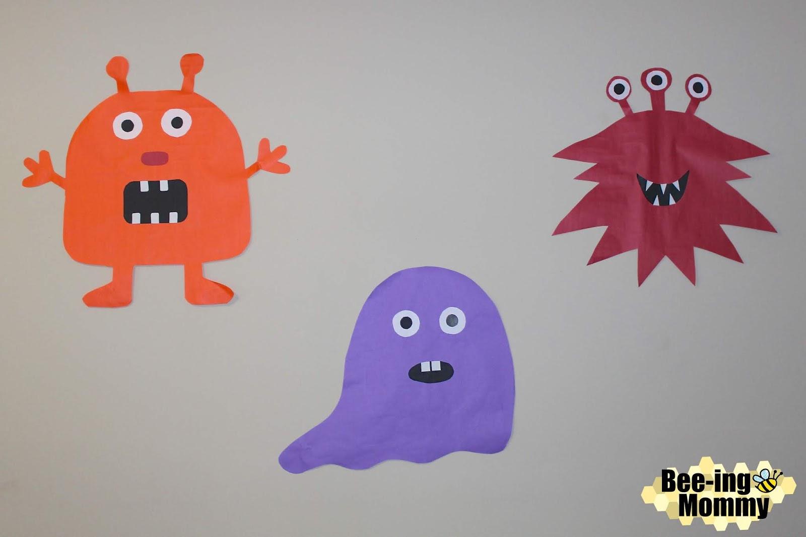 Monster Birthday Party Decoration Decor Decorations DIY