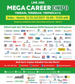 Mega Career Expo Jakarta Juli 2017