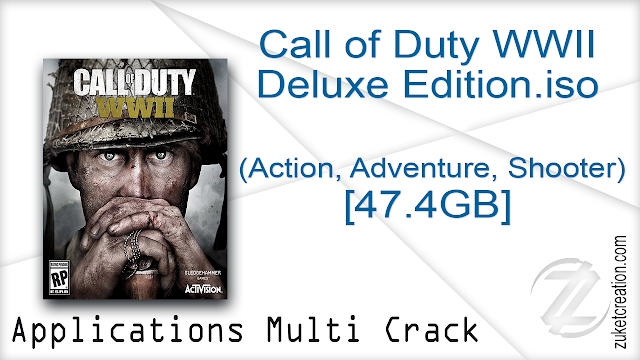 Call of Duty WWII Deluxe Edition.iso (Action, Adventure, Shooter) [47.4GB]