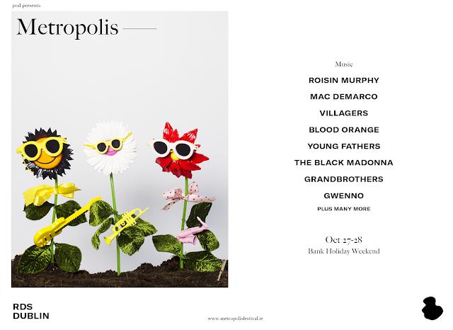 Metropolis 2018 - Line-Up RDS Dublin