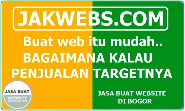 JASA PEMBUATAN WEBSITE BOGOR