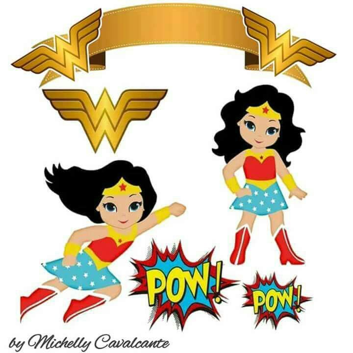 image regarding Wonder Woman Printable identified as Ponder Lady: Absolutely free Printable Cake Toppers. - Oh My Fiesta