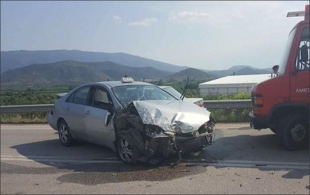 Δεύτερη απώλεια ζωής από το τροχαίο του φορτηγού με το ταξί στην Κορίνθου -Τριπόλεως