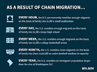 Chain Migration (Immigration) Chart