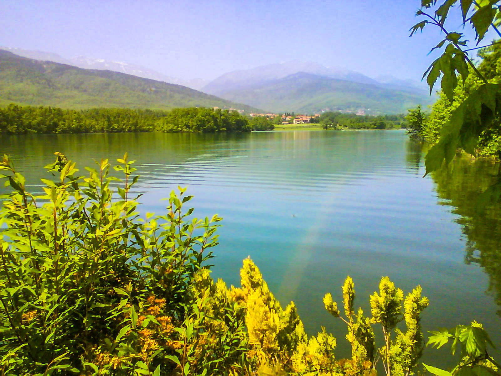 Βασίλης Αργύρης: Η λίμνη Πλαστήρα από τα Καλύβια Πεζούλας Νο 1