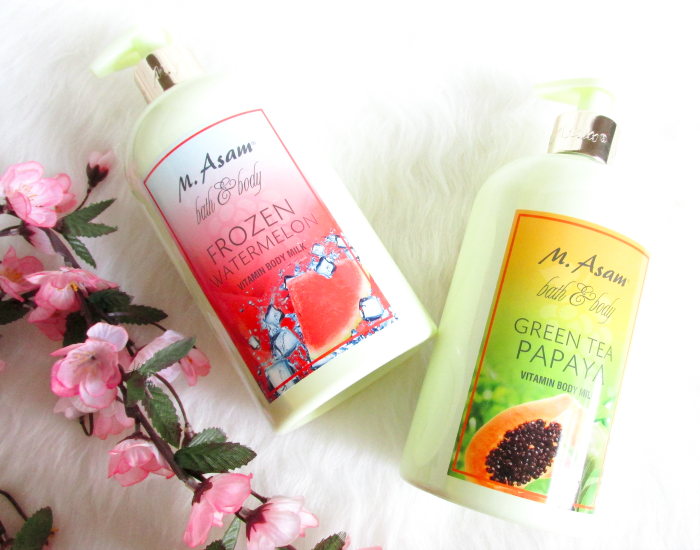Review:  M. Asam Vitamin Body Milks - Frozen Watermelon & Green Tea Papaya / Inhaltsstoffe