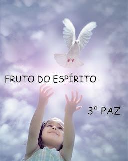Resultado de imagem para fruto do espirito paz