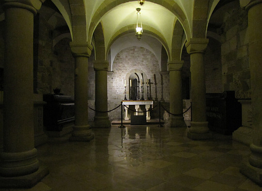 Katedra Wawelska. Krypta św. Leonarda.