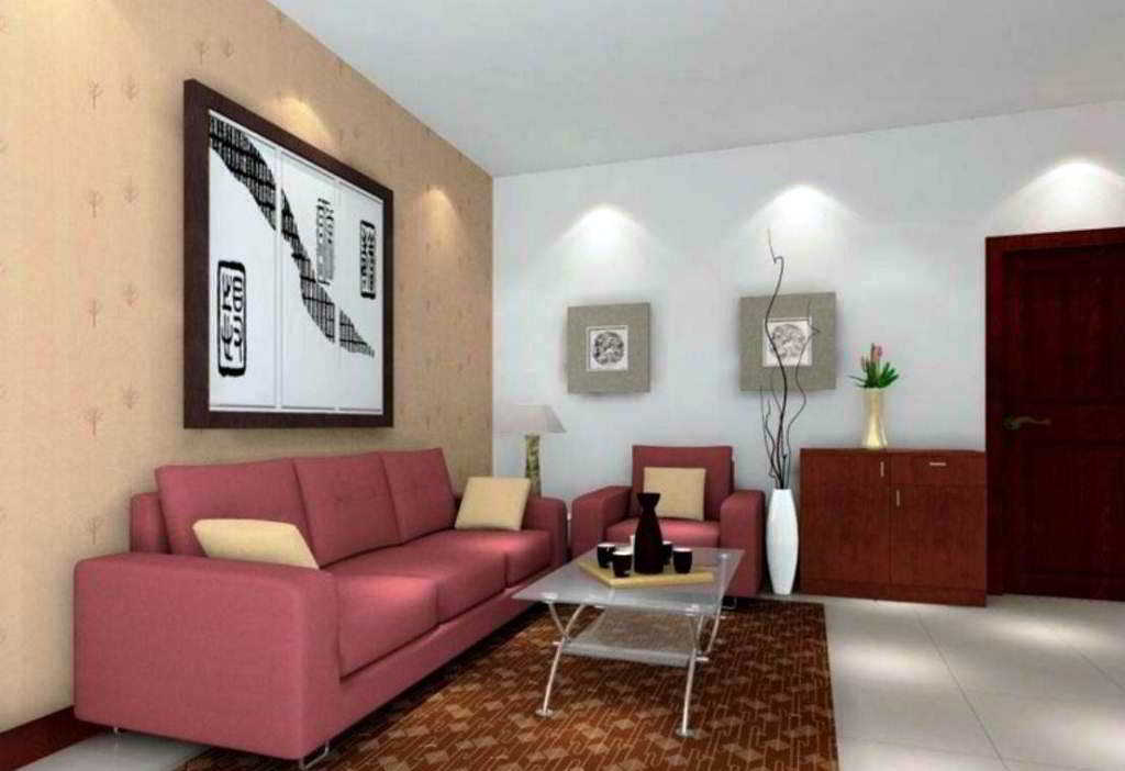 70 contoh desain ruang tamu kecil minimalis sederhana modern