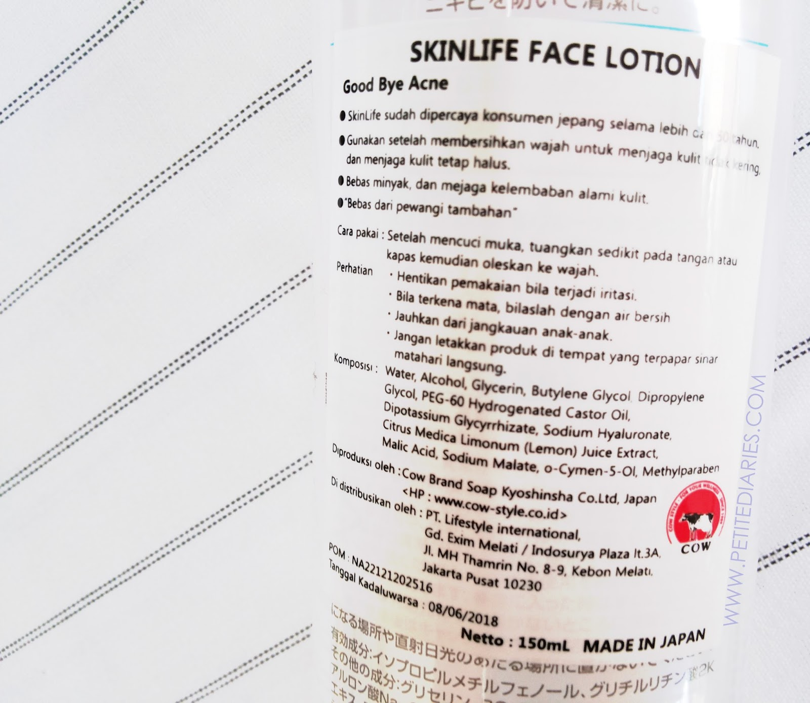 skinlife cleansing face lotion usage
