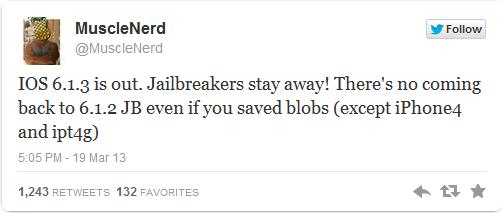 Silv3rWind - Untethered Jailbreak For Apple iOS 6 1 3