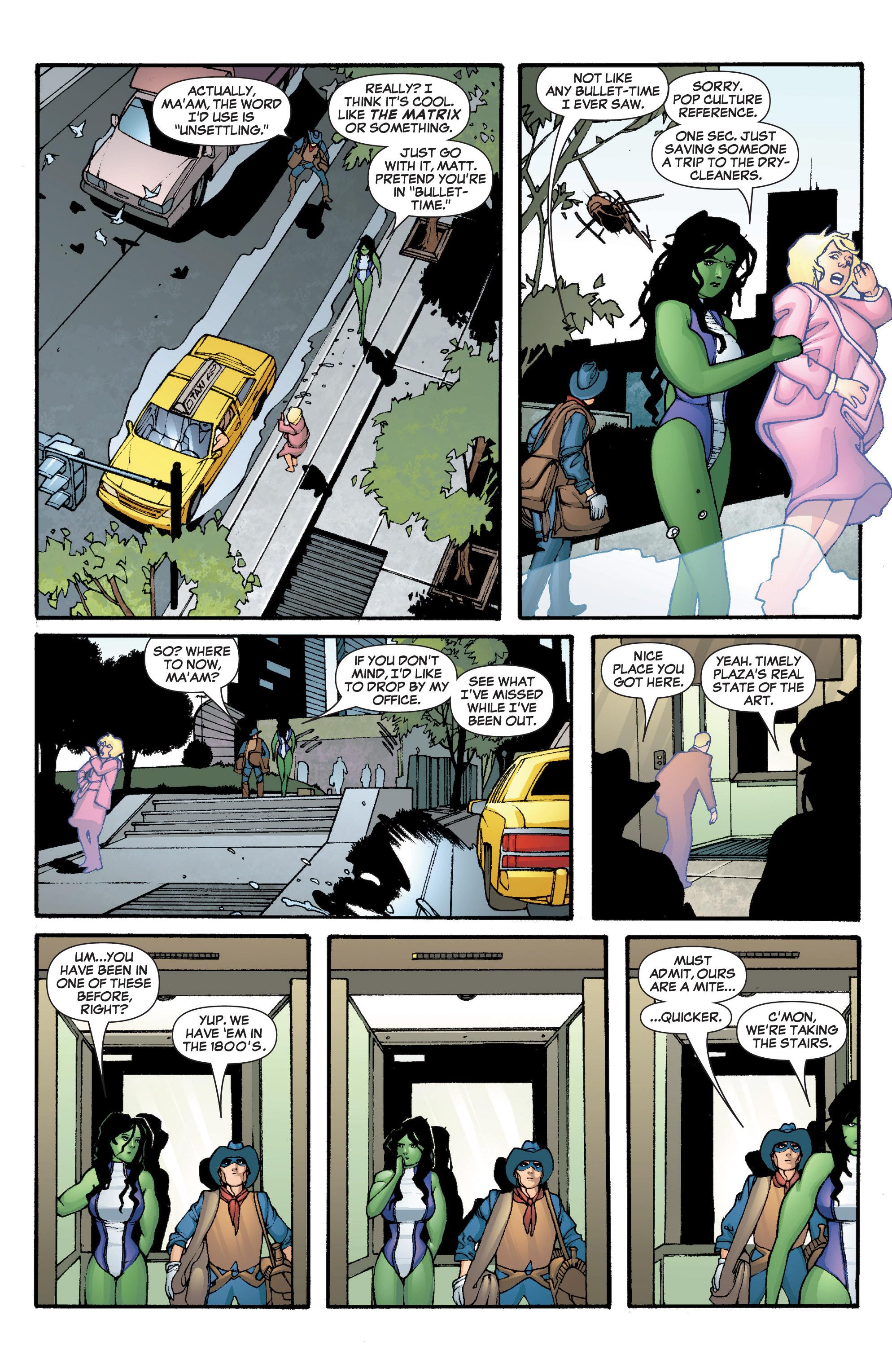 Read online She-Hulk (2005) comic -  Issue #5 - 6