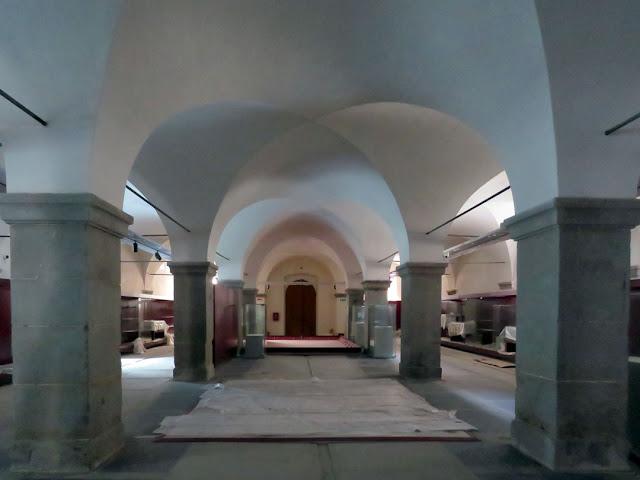 Bottini dell'olio, former oil warehouses, future location of the Civic Museum, Livorno