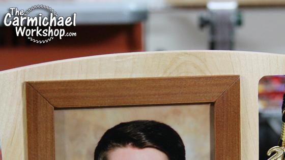 The Carmichael Workshop Graduation Picture Frame and Tassel Holder
