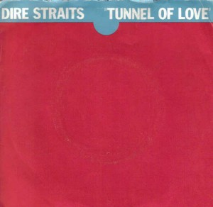Portada del single Tunnel of love de Dire Straits