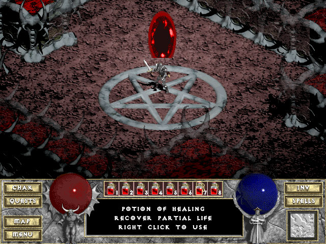 Diablo 1 Blizzard Captura de pantalla 12