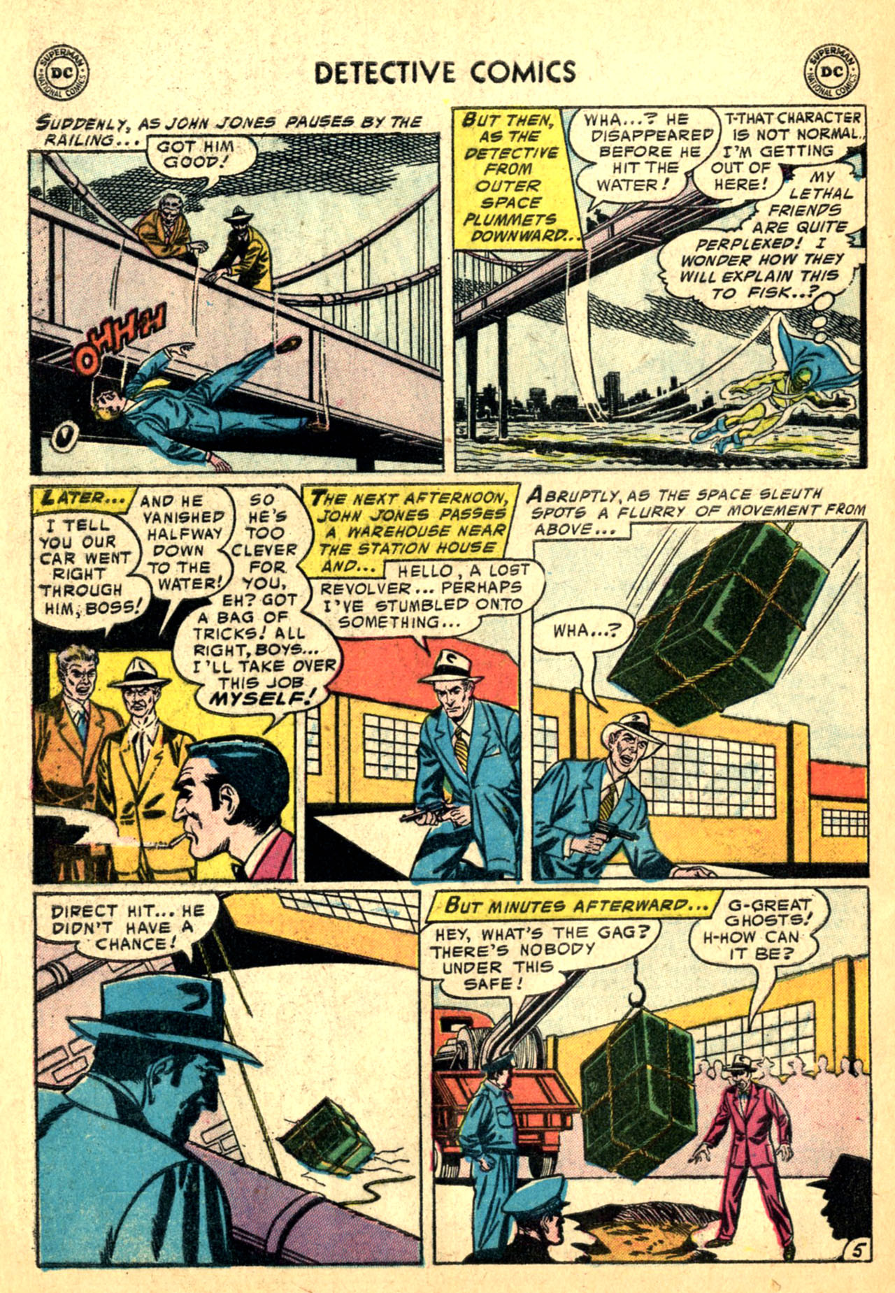 Read online Detective Comics (1937) comic -  Issue #227 - 32