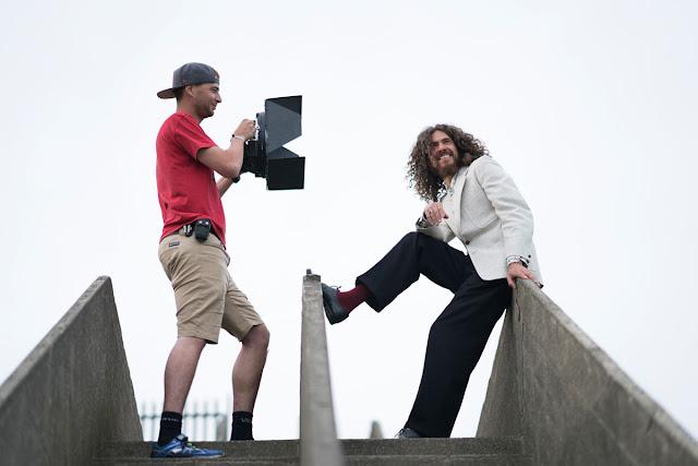 Rotoloight location shoot - Mark Larry Band - Ashley Laurence