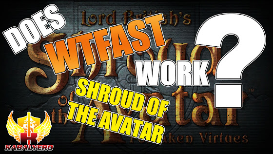 Does WTFast Work With Shroud Of The Avatar?