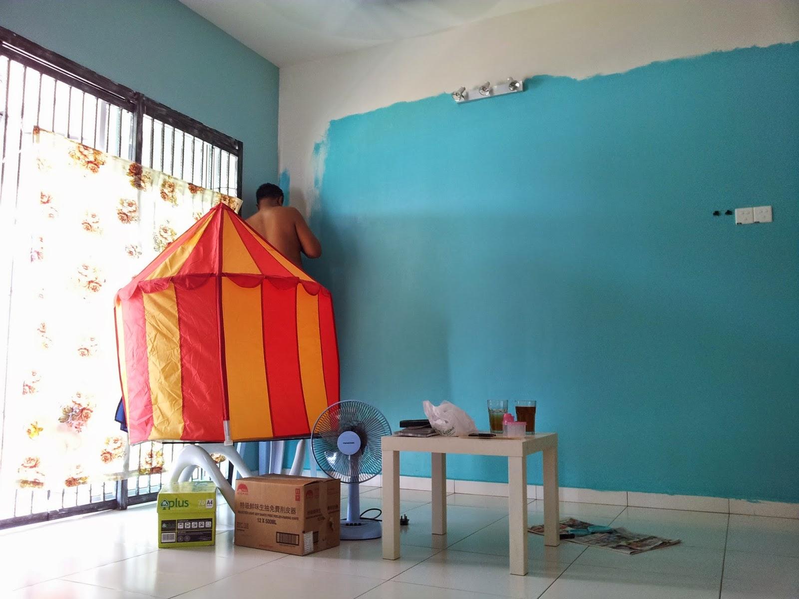 Inilah Warna Feature Wall Umah Kami