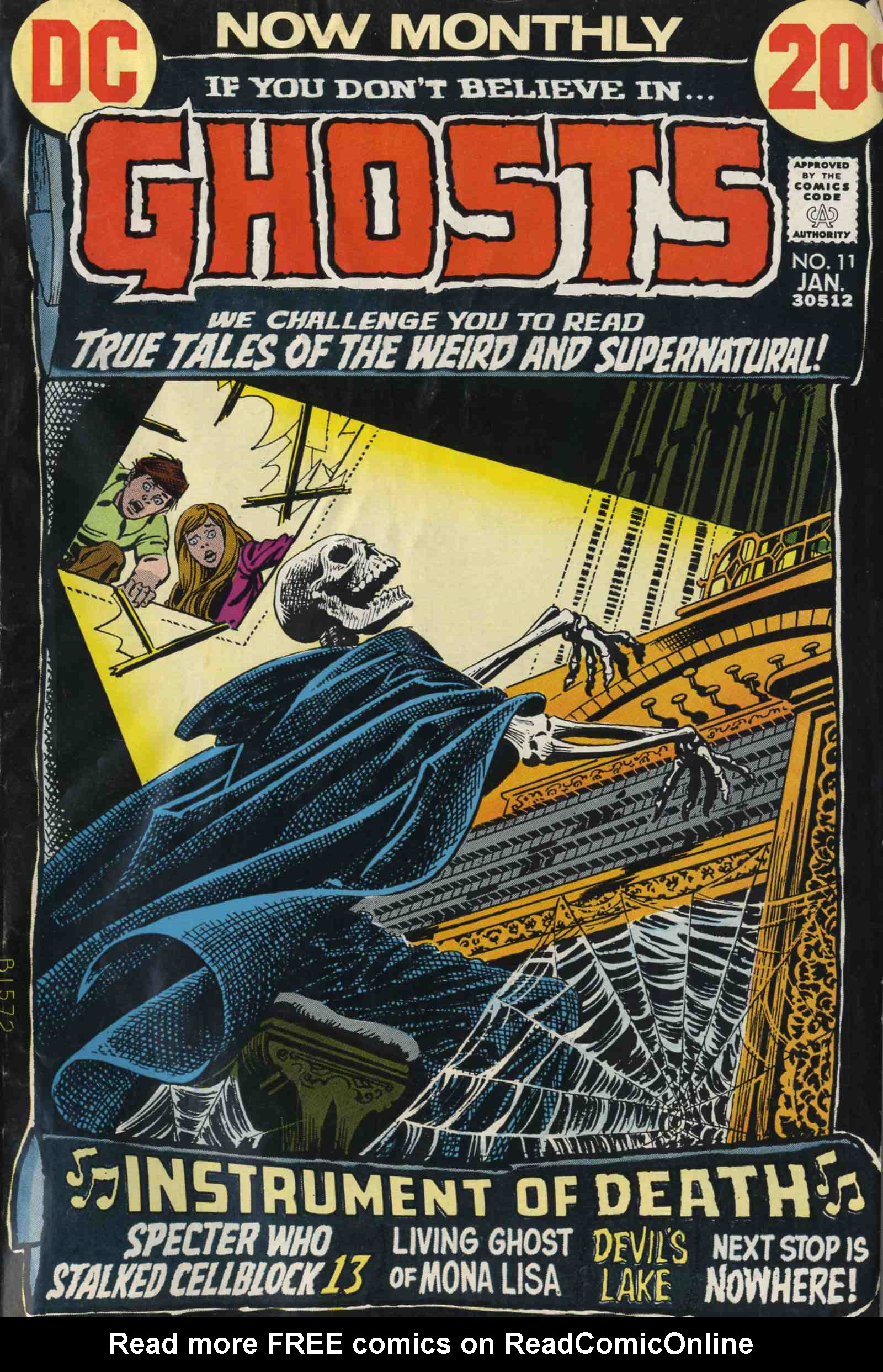 Read online Ghosts comic -  Issue #11 - 1