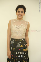 Taapsee Pannu in transparent top at Anando hma theatrical trailer launch ~  Exclusive 005.JPG