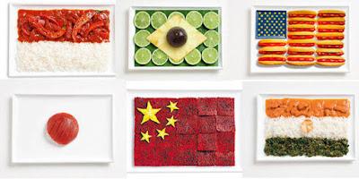 Makanan Unik Ini Disulap Menjadi Bendera Negara Di Dunia