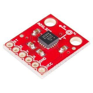 Accelerometer surface mount form