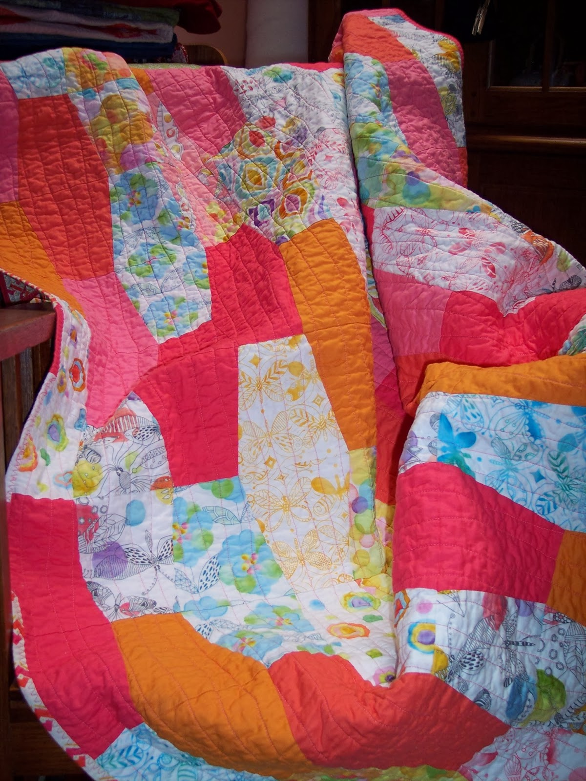 It's Friday! Lava Lamp Quilt
