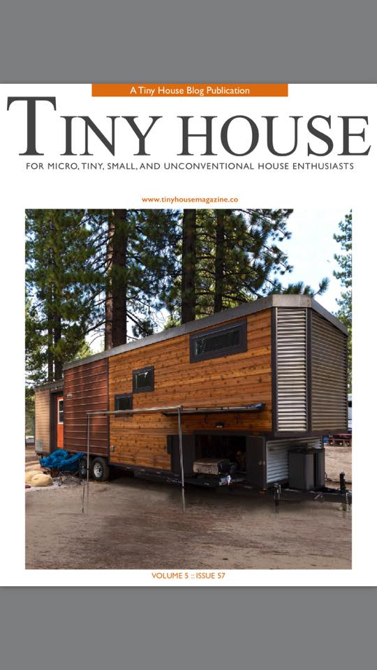 Tiny House Town Empty Nester From Kamtz Tiny House Company